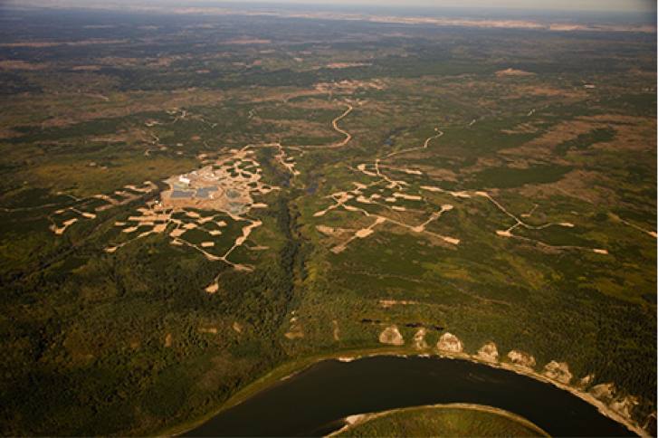 North Aerial View of the Star-Orion South Diamond Project